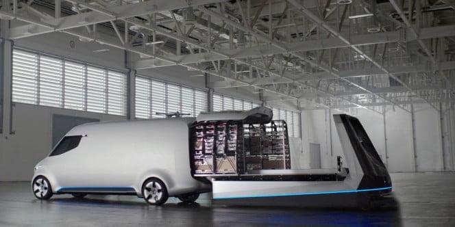 Koncepcyjna furgonetka Mercedes